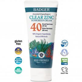 Badger - Clear Zinc Sport Sunscreen