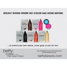 Betty Beauty - Color For The Hair Down There Hair
