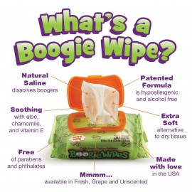 Boogie Wipes - Baby Hand and Face Wet Wipe