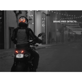 BrakeFree - Smart Brake Light for Motorcyclists