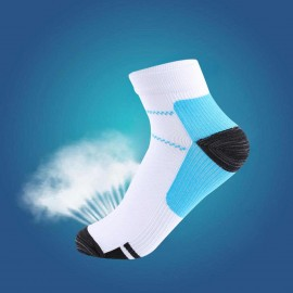 CHARMKING Compression Running Socks