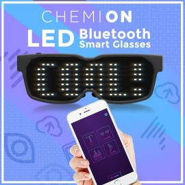 Chemion LED Bluetooth Glasses