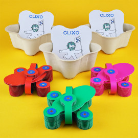 Clixo magnetic toys