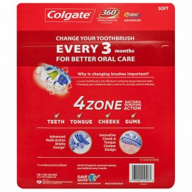 Colgate Total Advanced 4 Zone Toothbrush