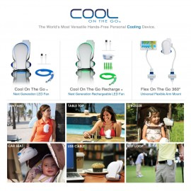 Cool on the Go Personal Fan