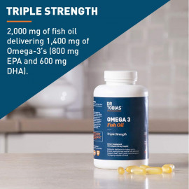 Dr Tobias Omega 3 Fish Oil