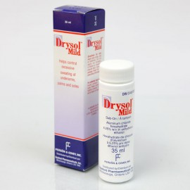 Drysol - excessive sweating