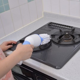 Electric kitchen cleaning brush