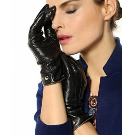 Elma Touchscreen Texting Nappa Leather Gloves