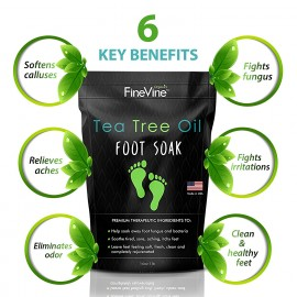 FineVine Tea Tree Oil Foot Soak