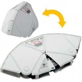 Flat Met - Folding type Helmet