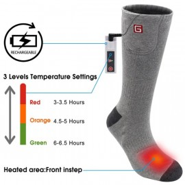GLOBAL VASION Rechargeable Battery Heated Socks