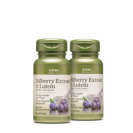 GNC Herbal Plus Bilberry Extract Supports Eye Health