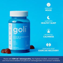 Goli Nutrition ASHWA Vitamin Gummy