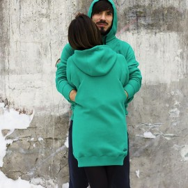 Hugging Hoodies