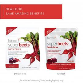 HumanN SuperBeets Heart Chews