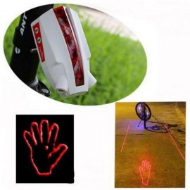 Intelligent Laser Bike Rear Light