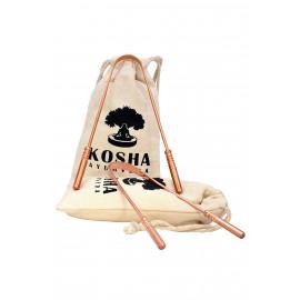 Kosha Ayurveda Copper Tongue Scraper Cleaner
