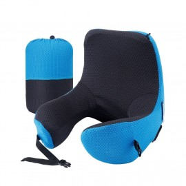 LANGRIA Astronaut Memory Foam Travel Pillow