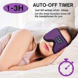 LC-dolida Smart Sleeping Headphones Bluetooth 3D Sleep Mask
