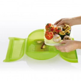 Lekue Steamer Case with Tray