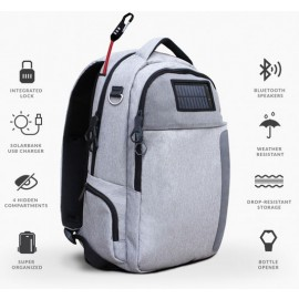 Lifepack - Solar Powered Anti Theft Backpack