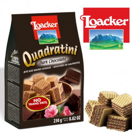 Loacker Quadratini Premium Wafer Cookies