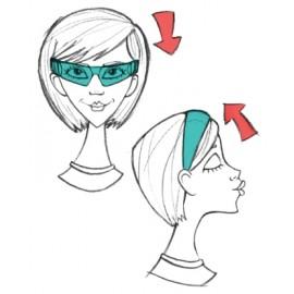 Lookie lous Hairband Reading Glasses
