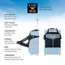 Lugabug Travel Seat Child Carrier