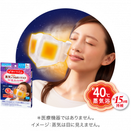 Megrhythm Steam Face Mask