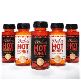 Mikes Hot Honey Sauce Bottle