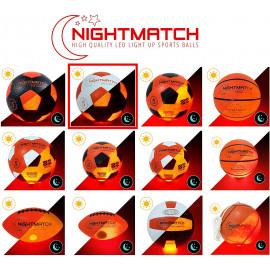 NIGHTMATCH Light Up LED Soccer Ball