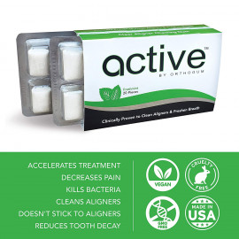 OrthoGum Active chewing gum