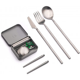 Outlery Full Set Re useable Cutlery Chopsticks On the Go