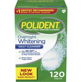 POLIDENT DENTURE CLEANSERS