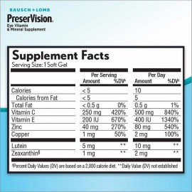 Preservision AREDS2 Formula