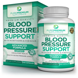 PurePremium Blood Pressure Support Supplement