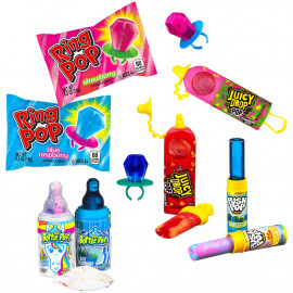 Push Pop Bazooka Candy Brands