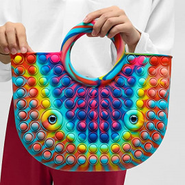 Push Pop Fidget Toys Handbag