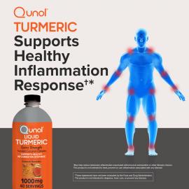 Qunol Liquid Turmeric Curcumin with Bioperine