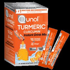 Qunol Turmeric Curcumin Instant Drink Mix