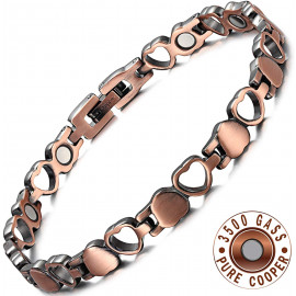 RainSo Pure Copper Magnetic Bracelets
