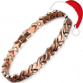 Rainso Womens Magnetic Copper Bracelets