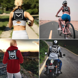 Runtasty Running Reflective Mini-Backpack Vest