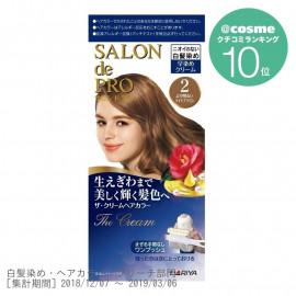 SALON de PRO Cream Hair Color for gray hair