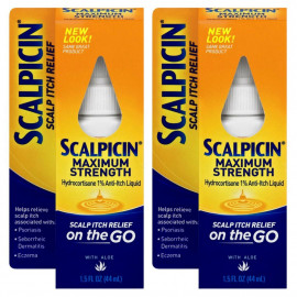 Scalpicin Maximum Strength Scalp Itch Treatment