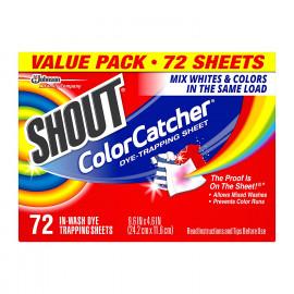 Shout Color Catcher Sheets for Laundry