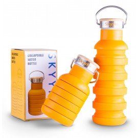 SkyyHi Collapsible Travel Water Bottle