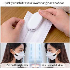 Sowmow Personal Wearable air face fan