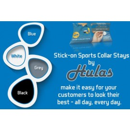 Sports Collar Stays By Hulas